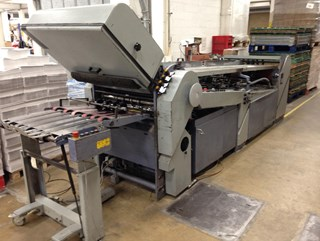 Stahl TC 66-6-4-RCC all buckle folder Folding machines