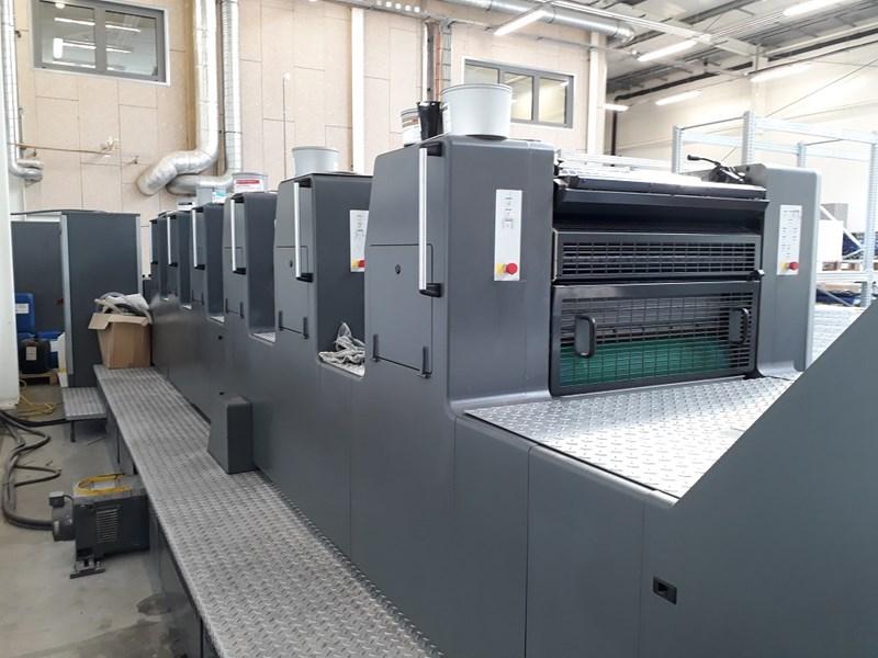 Heidelberg SM 74-6 colour press