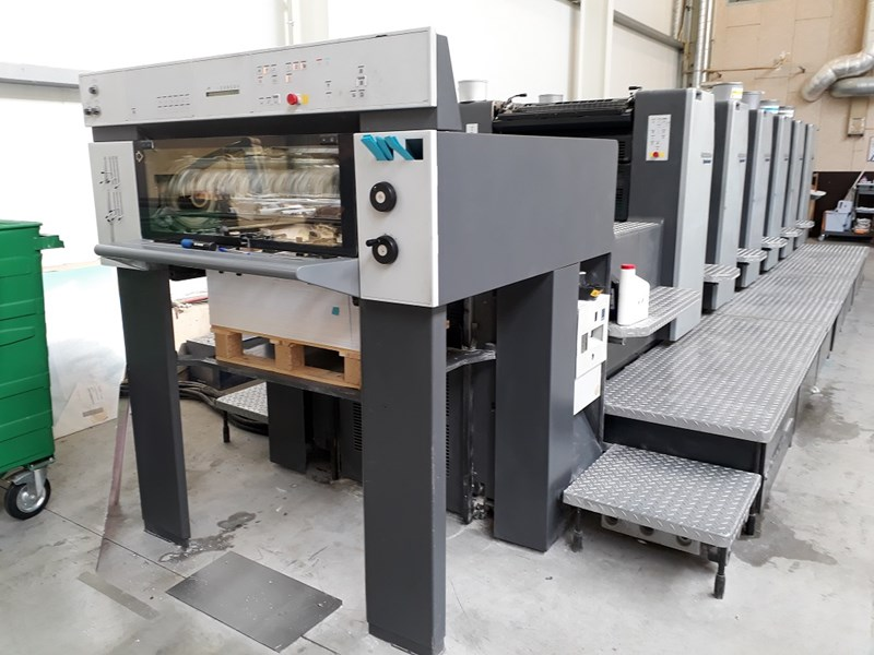 Show details for Heidelberg SM 74-6 colour press
