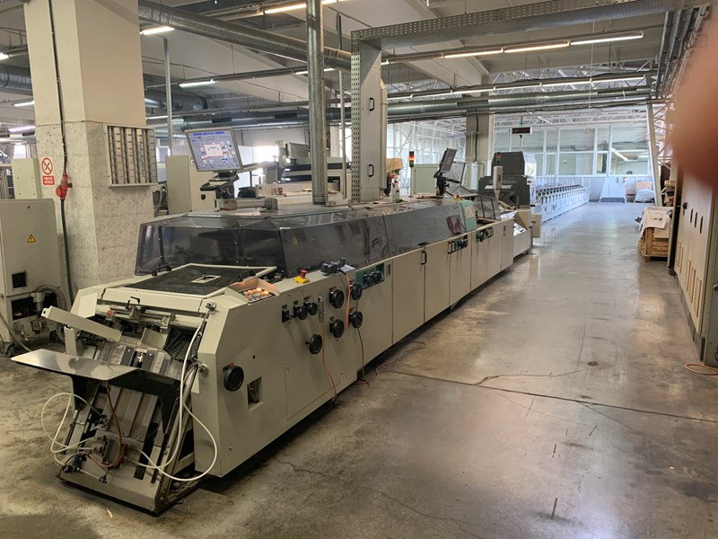 Show details for Kolbus KM 472 perfect binding line