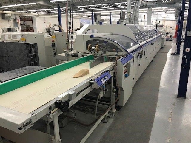 Show details for Kolbus KM 473 Perfect Binding line