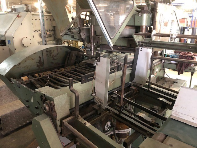 Kolbus PE311 embossing press