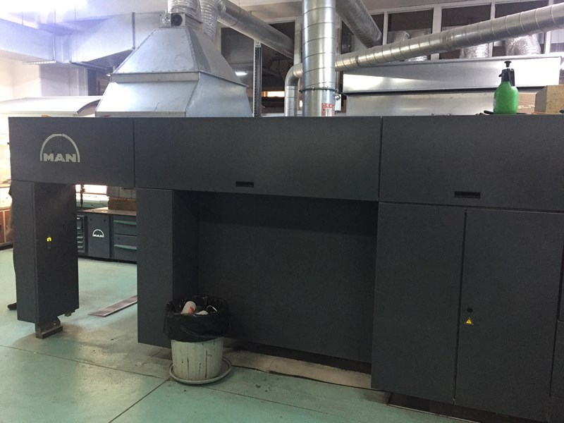 Roland 705 3B LV DirectDrive 5 Color + Coating Unit with Extended Delivery