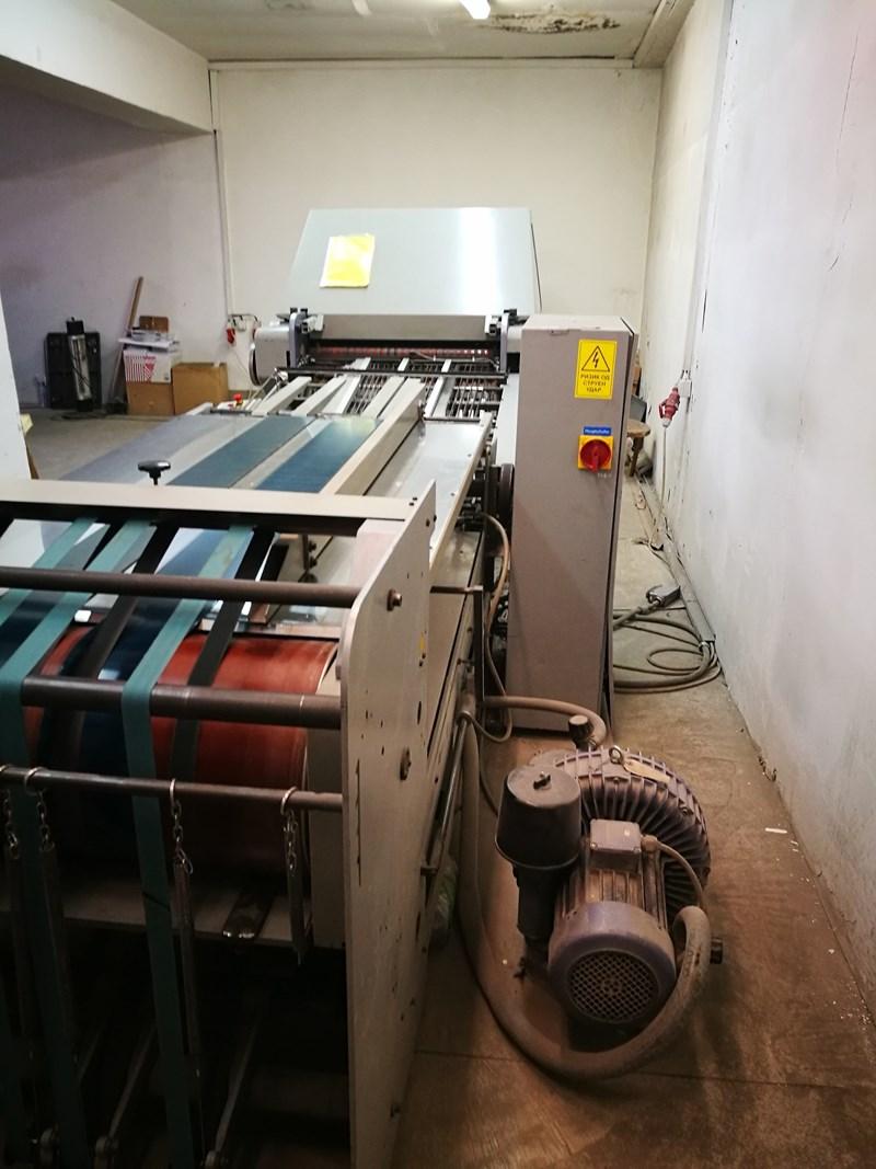 Stahl KD78/4KTLL folding machine