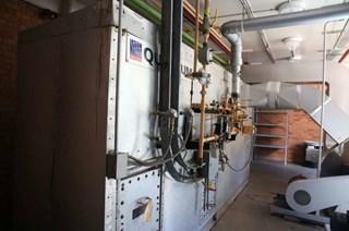 MEG-TEC QUANTUM Afterburner - Catalytic converter. Akzidenzmaschine