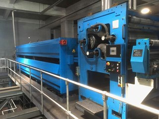 MEG TEC 7m heatset dryer Heatset