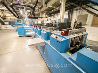 Muller Martini Powerliner  (GMA) Inserting machine Newspaper
