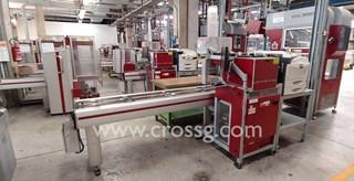 A Complete Wamac / Idab Mailroom Zeitungsdruckmaschinen
