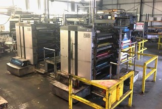 "A 22 3/4"" 578mm cut-off - Web Leader / Solna press line Newspaper"