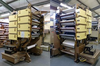 Web Leader Quad Stack (4+4 colour unit) Zeitungsdruckmaschinen