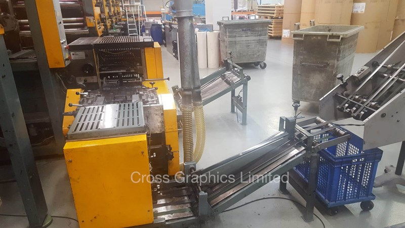 SOLNA Web Press 630mm cut-off.