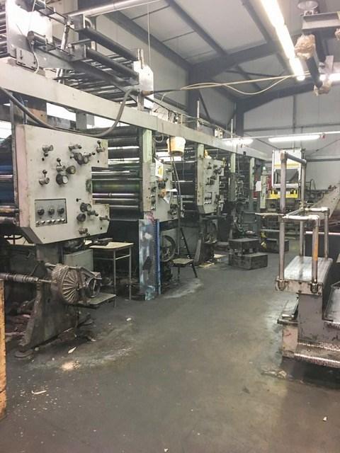 "A 22 3/4"" 578mm cut-off - Web Leader / Solna press line"