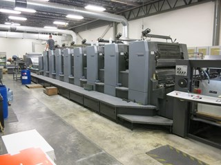 Heidelberg CD102-8+L Sheet Fed