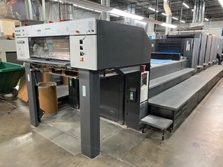 Heidelberg CD102-6+L SE  Sheet Fed