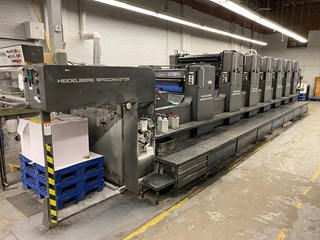 Heidelberg SM 102 Sheet Fed