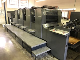 Heidelberg SM 74-4-P-H Sheet Fed