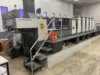 Komori Lithrone L528+C Offset de pliegos