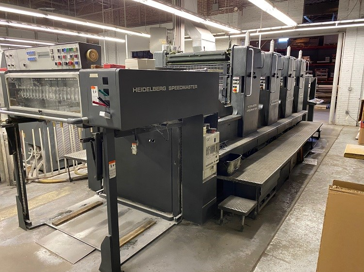 Show details for Heidelberg SM102-VP