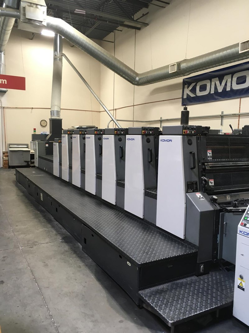 Show details for Komori Lithrone L-28