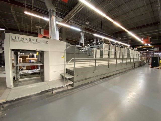 Show details for Komori Lithrone L-40/LS-40/GL-40/GS-40