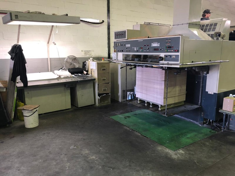 Komori Lithrone L-40/LS-40/GL-40/GS-40