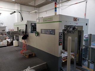 2012 Brausse 1050 E Die Cutters - Automatic and Handfed