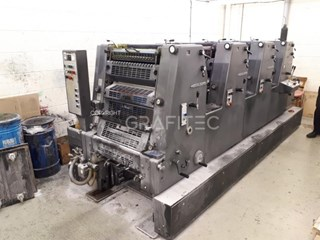 1997 Heidelberg GTO 52-4 Sheet Fed