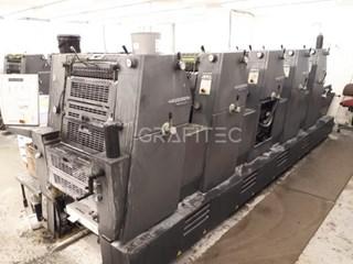 2005 Heidelberg Printmaster GTO 52-5 Machines offset à feuilles
