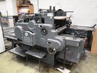 Heidelberg SBG Automatic Foiler Converting Equipment