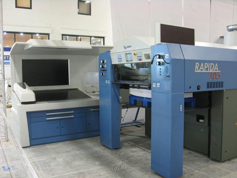 KBA Rapida RA105+L CX ALV2 SAPC