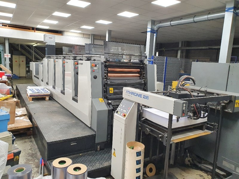 2003 Komori Lithrone L528+L