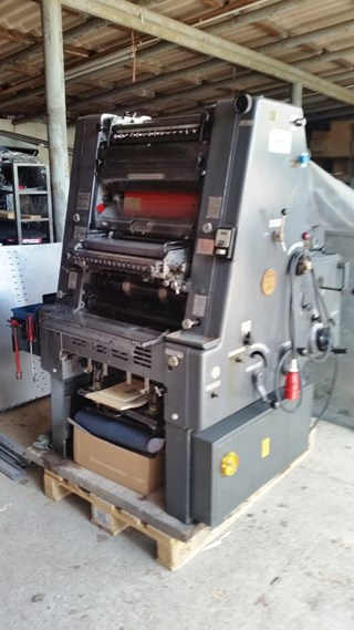 Heidelberg GTO 46 + NP Sheet Fed
