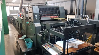 Heidelberg MOZPH UV Laquering machine Sheet Fed
