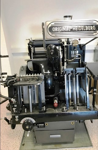Heidelberg OHT A4  Buchdruck-Zylinder & Tiegel