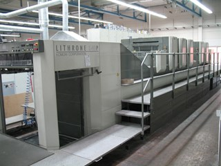 Komori Lithrone LS 540 P+LX Sheet Fed