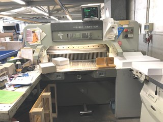 1992 Polar 115 EM Monitor Guillotines/Cutters