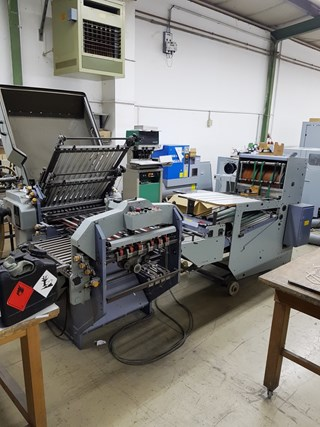 Stahl KC 56 / 4 - KTL with SBP46.2 Folding machines