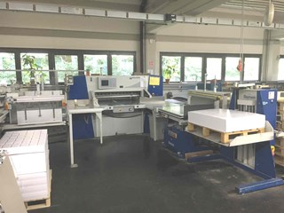 Wohlenberg 115 CutTec PS Guillotines/Cutters