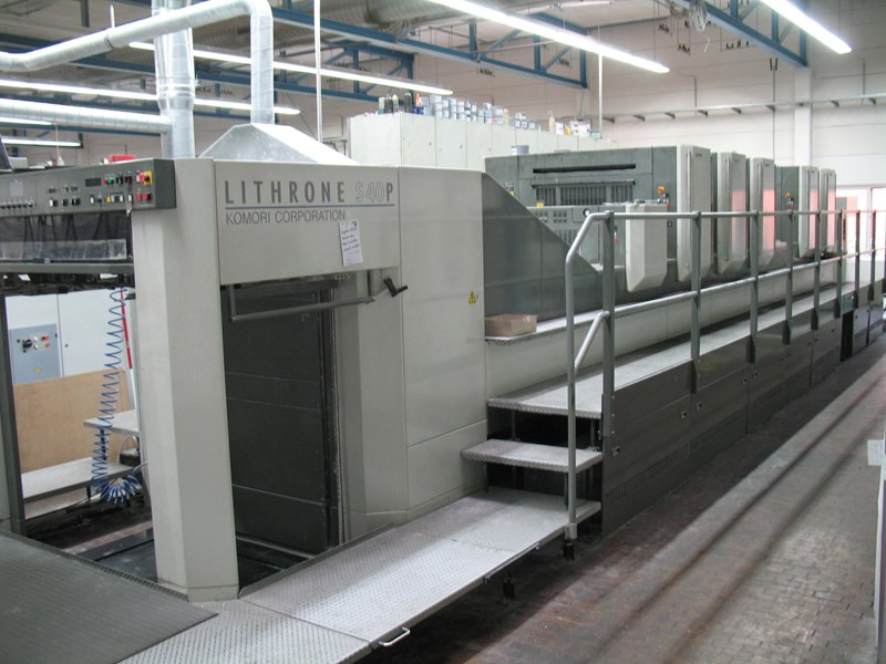 Show details for Komori Lithrone LS 540 P+LX