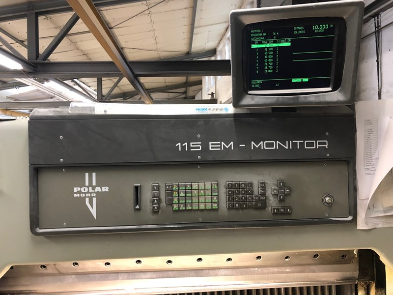 1992 Polar 115 EM Monitor