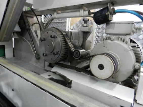 RS134 COMPLETE TRIMMING LINE WITH FOUR KNIVES