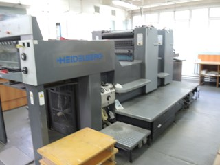 HEIDELBERG SM 74-2-P-H Sheet Fed