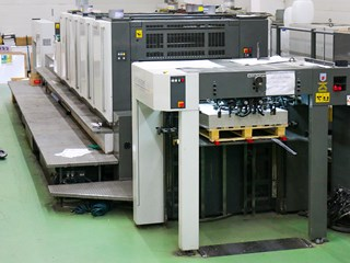 Komori Lithrone S 440 C Sheet Fed