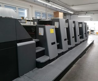 Heidelberg SM CD 74-5-P+L-C Sheet Fed