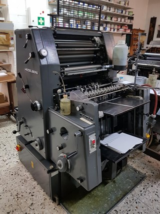 Heidelberg GTO 46+ Sheet Fed