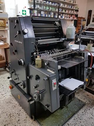 Heidelberg GTO 46+ 单张纸胶印机