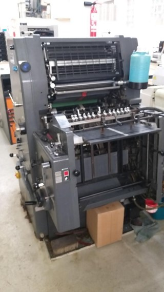 Heidelberg GTO 46+ NP Sheet Fed