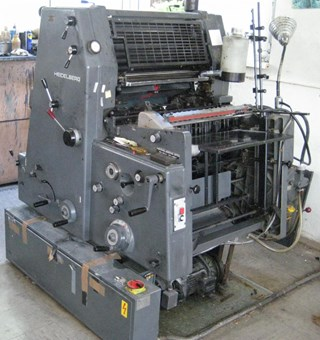Heidelberg GTO 52+ NP Sheet Fed