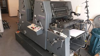 Heidelberg PM GTO 52-2 Sheet Fed
