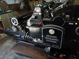 Heidelberg SBG Cylinder 54x72 Troqueladoras - Automáticas y Handfed